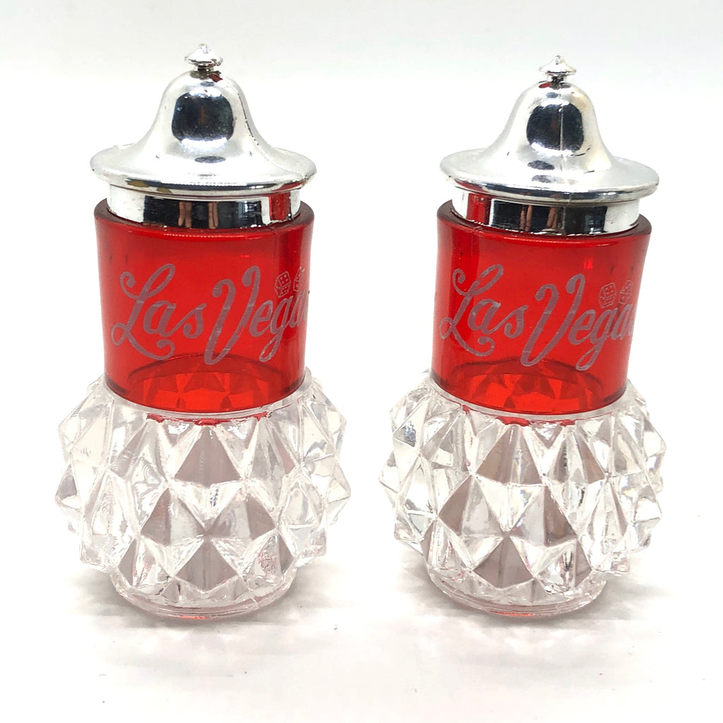 Las Vegas Vintage Salt and Pepper Shakers