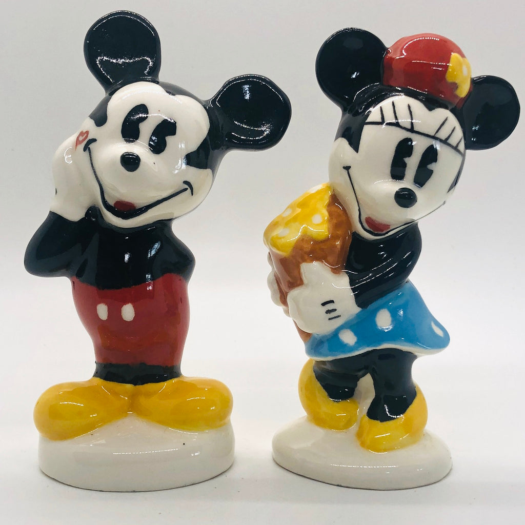 Mickey & Minnie Vintage Salt & Pepper Shakers