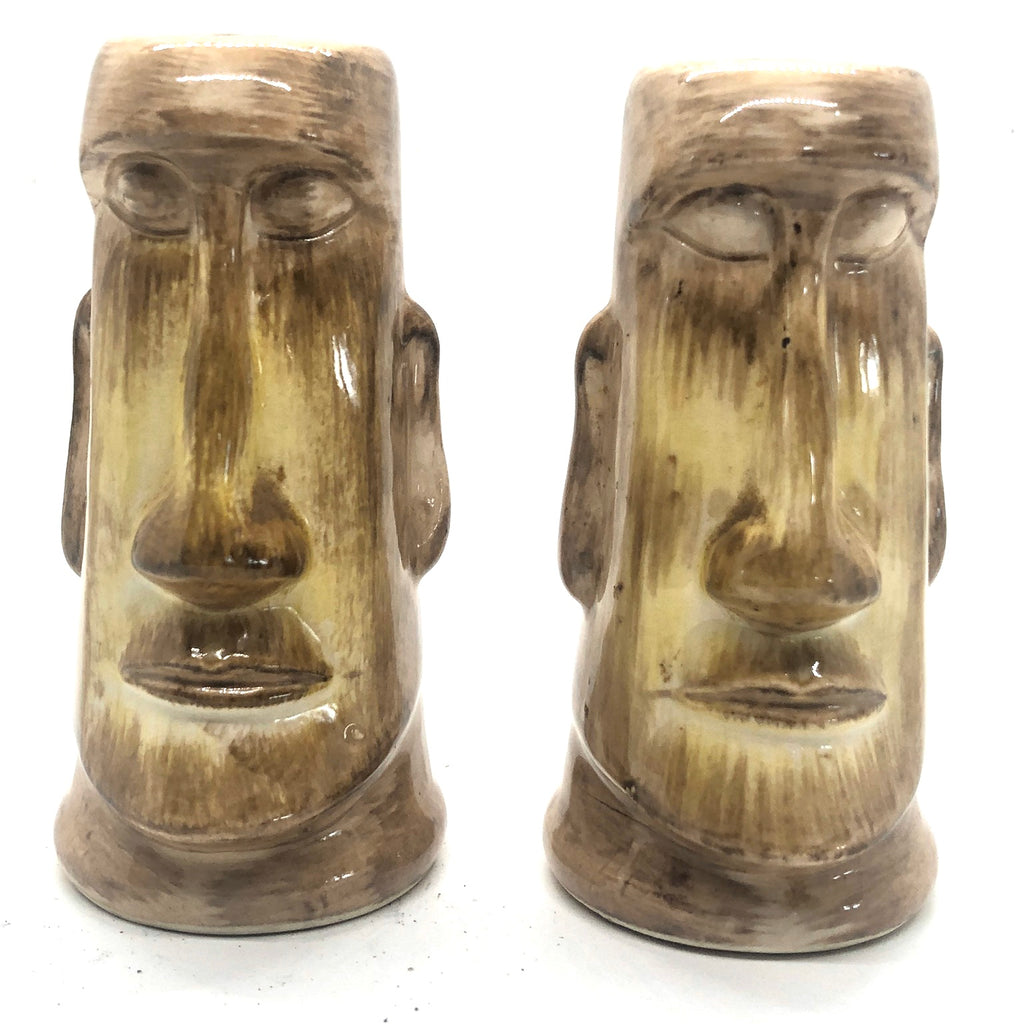Tiki Skipper Kents Vintage Salt & Pepper Shakers