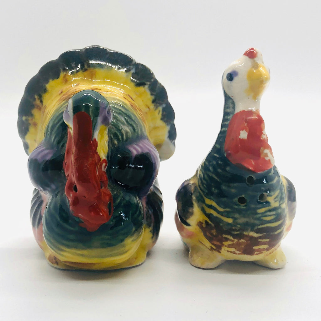Turkey Vintage Salt & Pepper Shakers