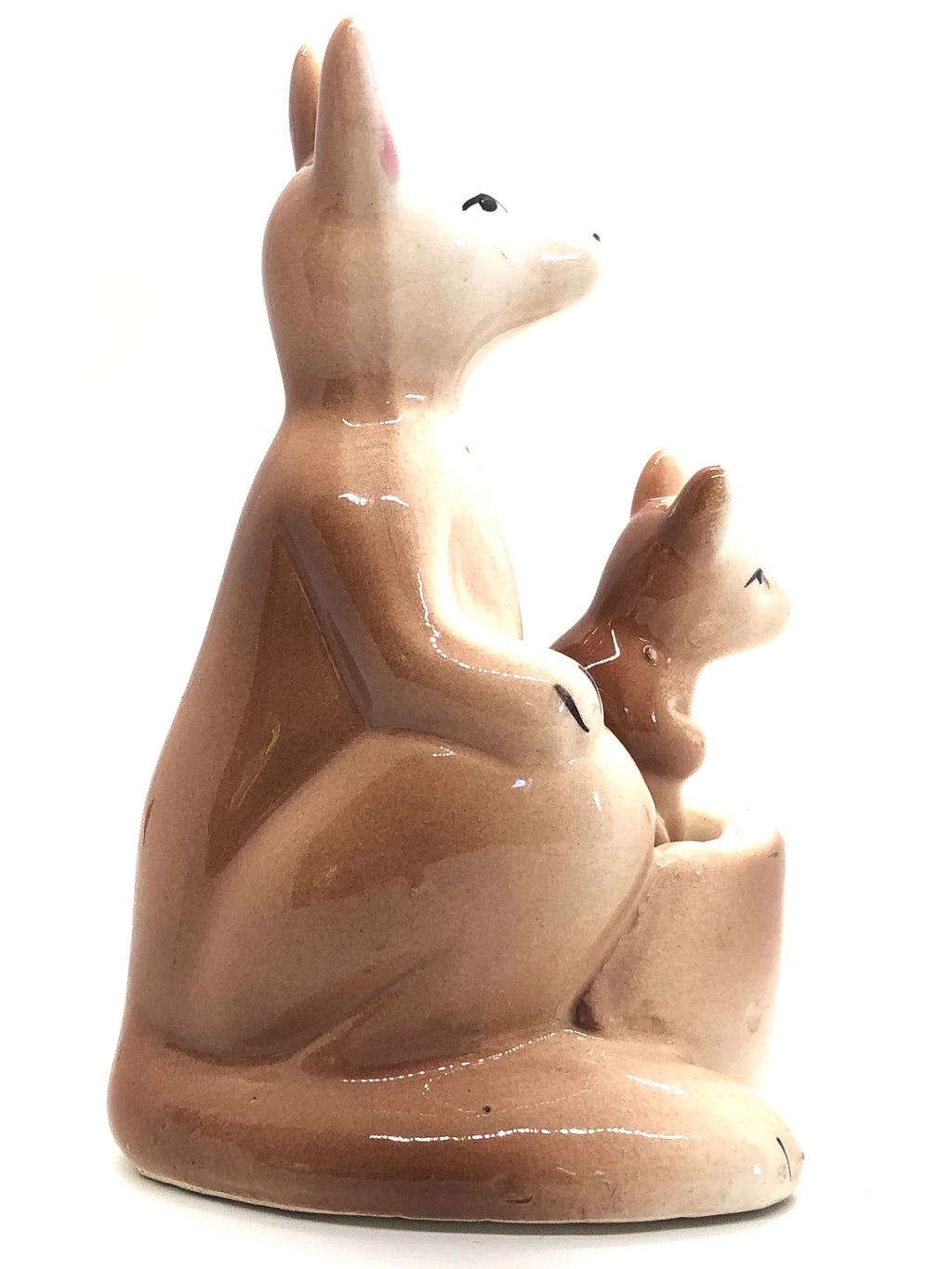 1960's Mother Kangaroo and Joey Vintage Salt & Pepper Shakers