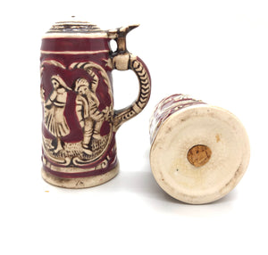 German Stein Vintage Salt and Pepper Shakers