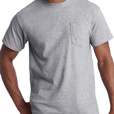 Budget Short Sleeve Pocket Tee