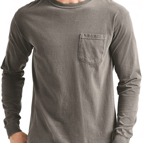 Top-Tier Long Sleeve Pocket Tee