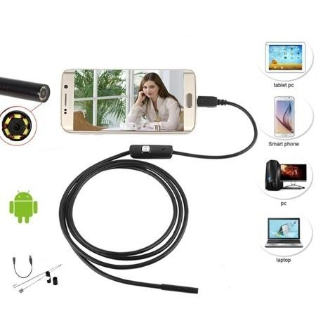 ANDROID/PC USB-ENDOSKOOPPI 1-5M/7MM - Verkkoexpress