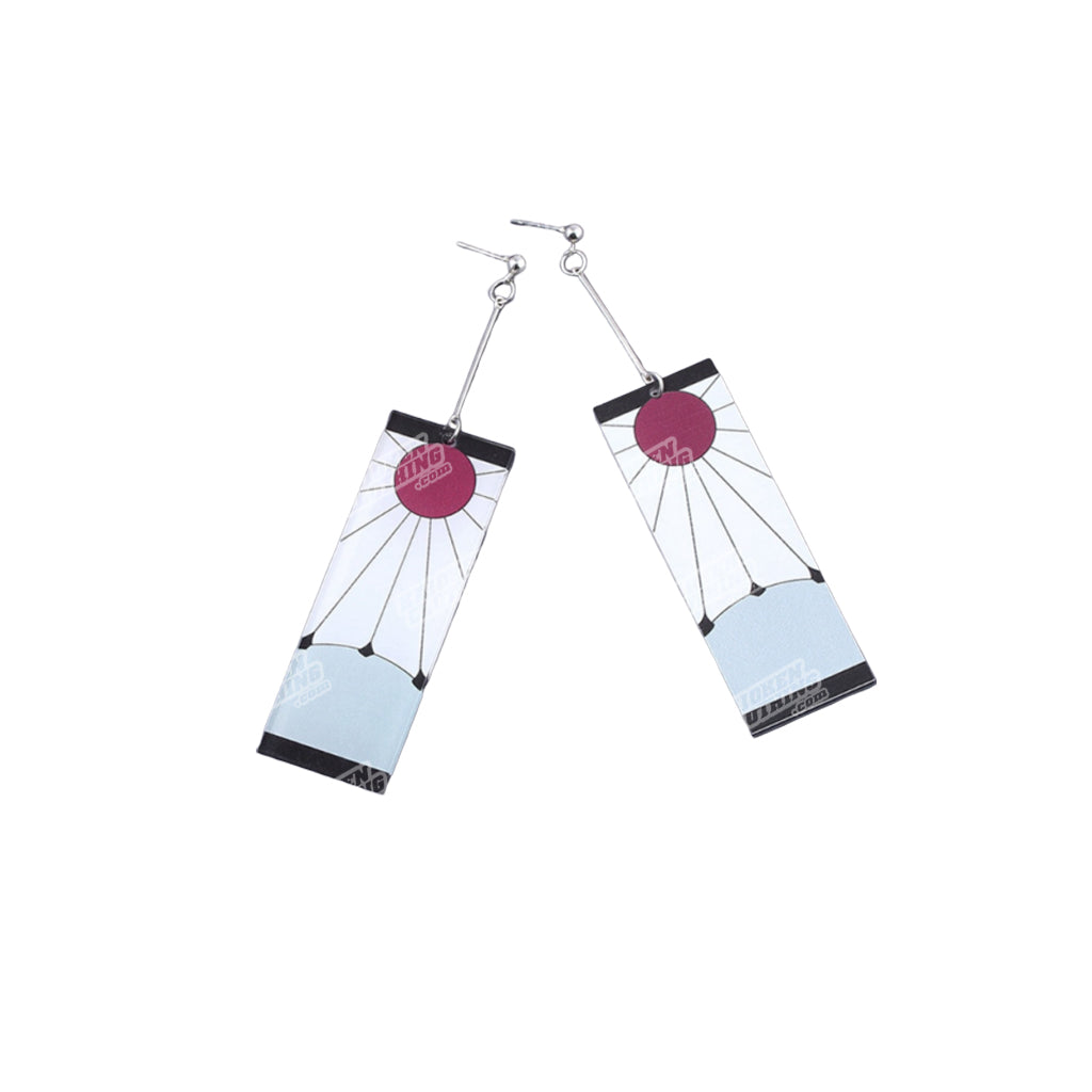 The 'Hanafuda' Earrings (Version 2.)