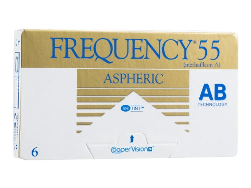4 Alternatives to Frequency 55 Aspheric Contact Lenses