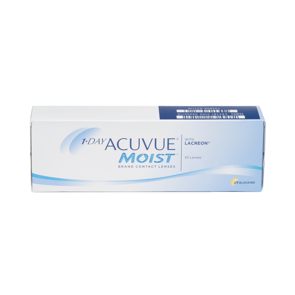 1-Day Acuvue Moist - 30 Pack Contact Lenses