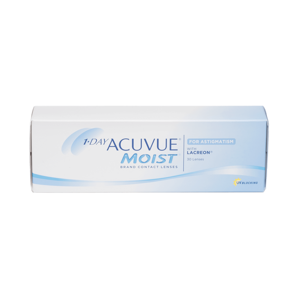 1-Day Acuvue Moist for Astigmatism - 30 Pack Contact Lenses