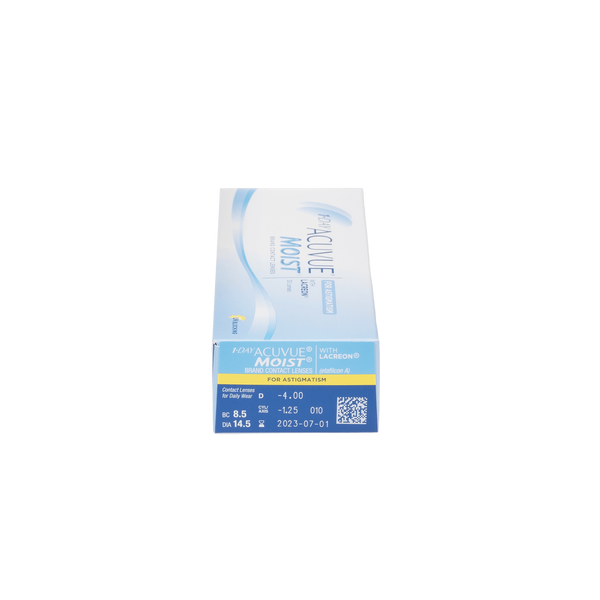 1-Day Acuvue Moist for Astigmatism - 30 Pack