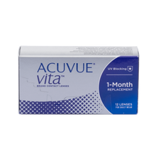 Load image into Gallery viewer, Acuvue Vita Contact Lenses Box - 12 Pack