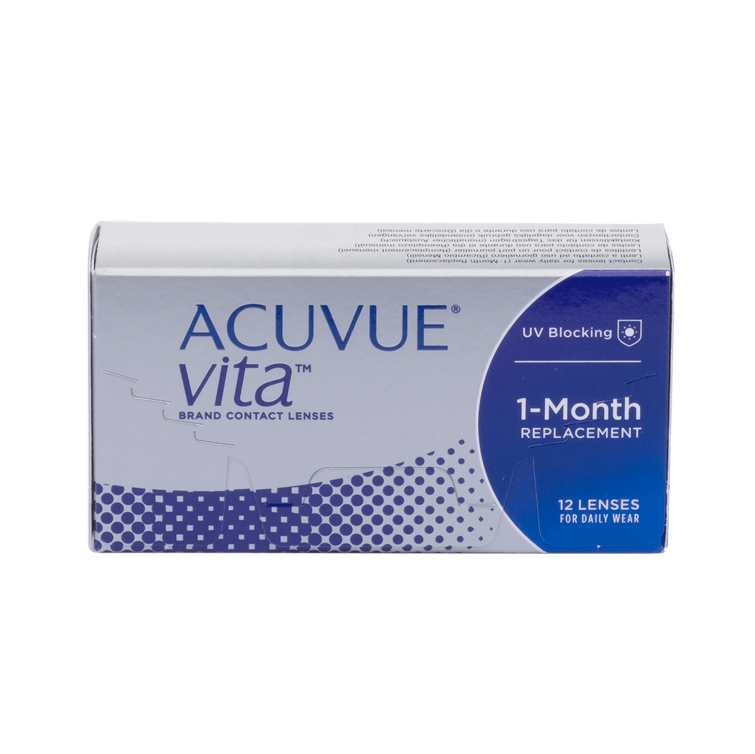 Acuvue Vita Contact Lenses Box - 12 Pack