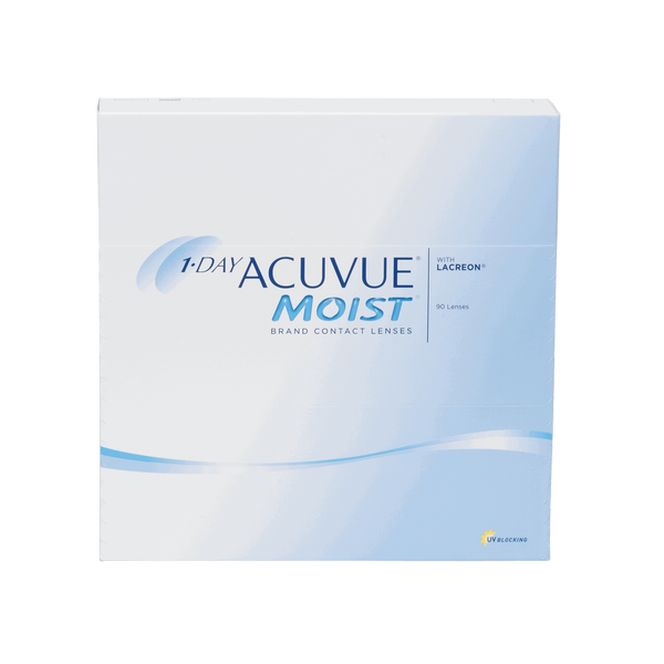 1-Day Acuvue Moist - 90 Pack Contact Lenses