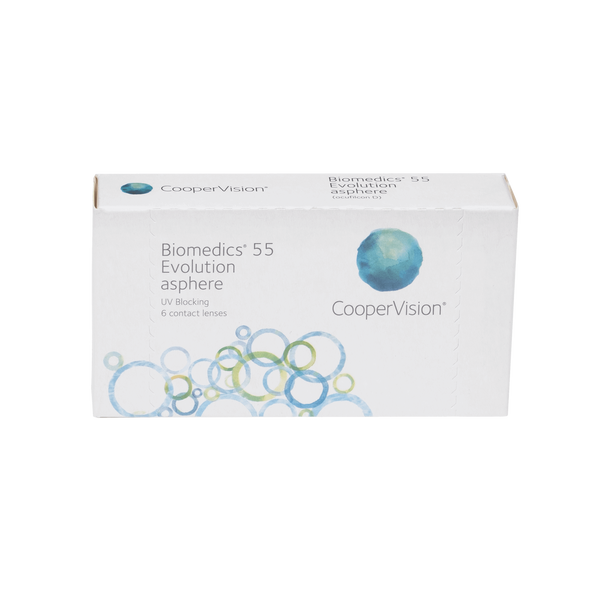 Biomedics 55 Evolution - 6 Pack Contact Lenses