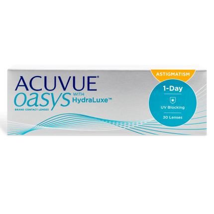 Acuvue Oasys 1 Day For Astigmatism Contact Lenses Box - 30 Pack