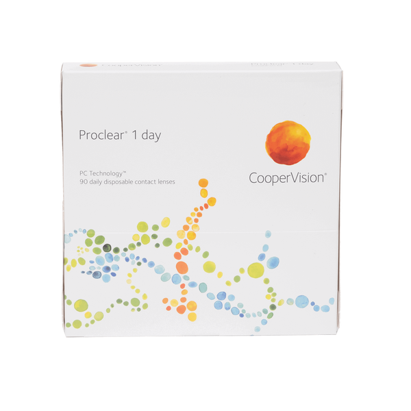 Proclear 1-Day - 90 Pack Contact Lenses