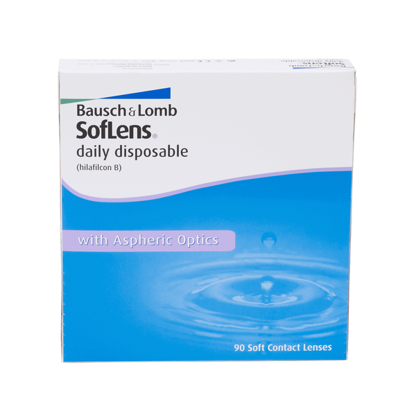 Soflens Daily Disposables - 90 Pack Contact Lenses
