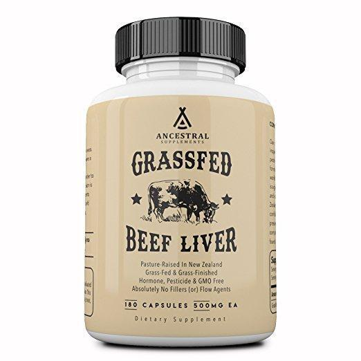 Desiccated Grass Fed Beef Liver
