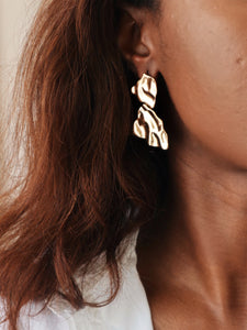 FAFALI Drop Stud Earrings