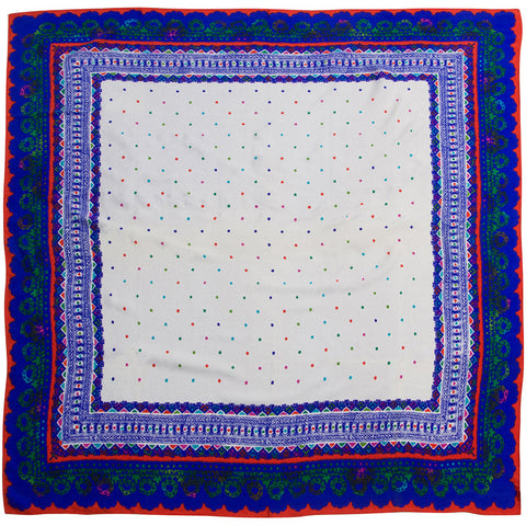 World Accents - Silk Jacquard Over-sized Square 102