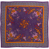 World Accents - Silk Jacquard Over-sized Square 107
