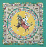 Belle Epoque Silk Scarf - The Lady's Horse