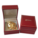 Gold or Silver Plated Zodiac Brooch - Gemini