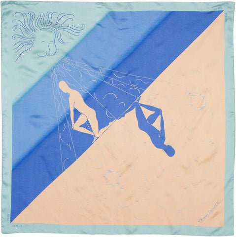 EXCLUSIVE - Custom Silk Scarves of the Zodiac, Gemini