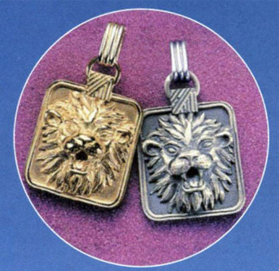Gold or Silver Plated Zodiac Pendant - Leo