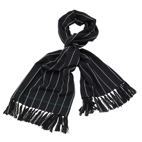 Geoffrey Beene - Wool Thin Striped Muffler