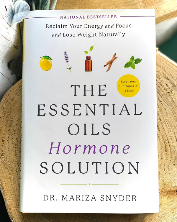The Essential Oil Hormone Solution by Dr. Mariza Snyder - Harrogate Organics Company