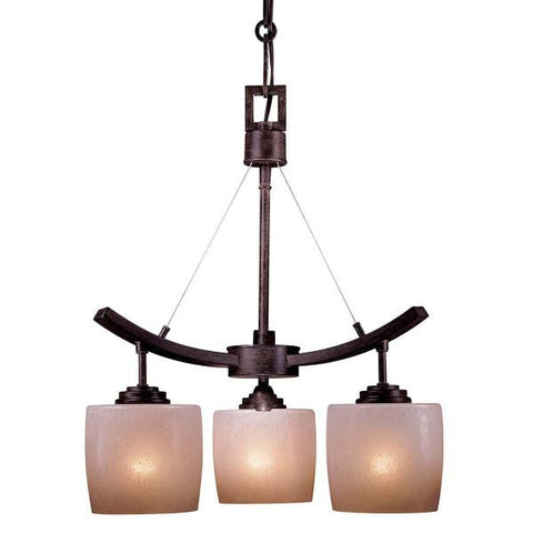 3 Light Raiden Mini Chandelier