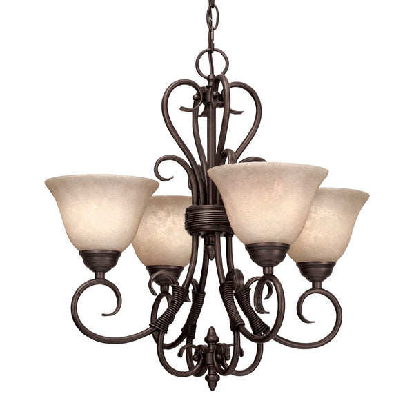 4 Light Homestead Mini Chandelier