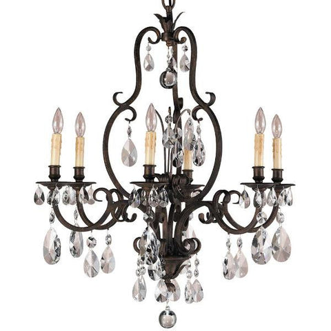 6-Light Salon Maison Chandelier