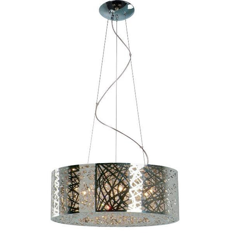 9 Light Inca Large Pendant