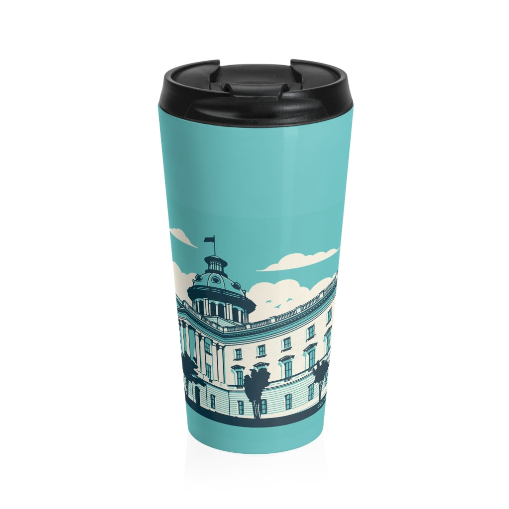 Landmark Series Stainless Steel Travel Mug - SC State House