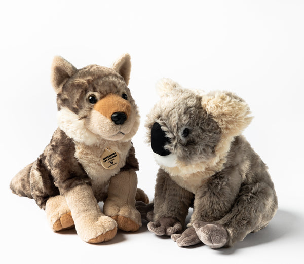 Riverbanks Zoo & Gardens Koala and Wolf Plush
