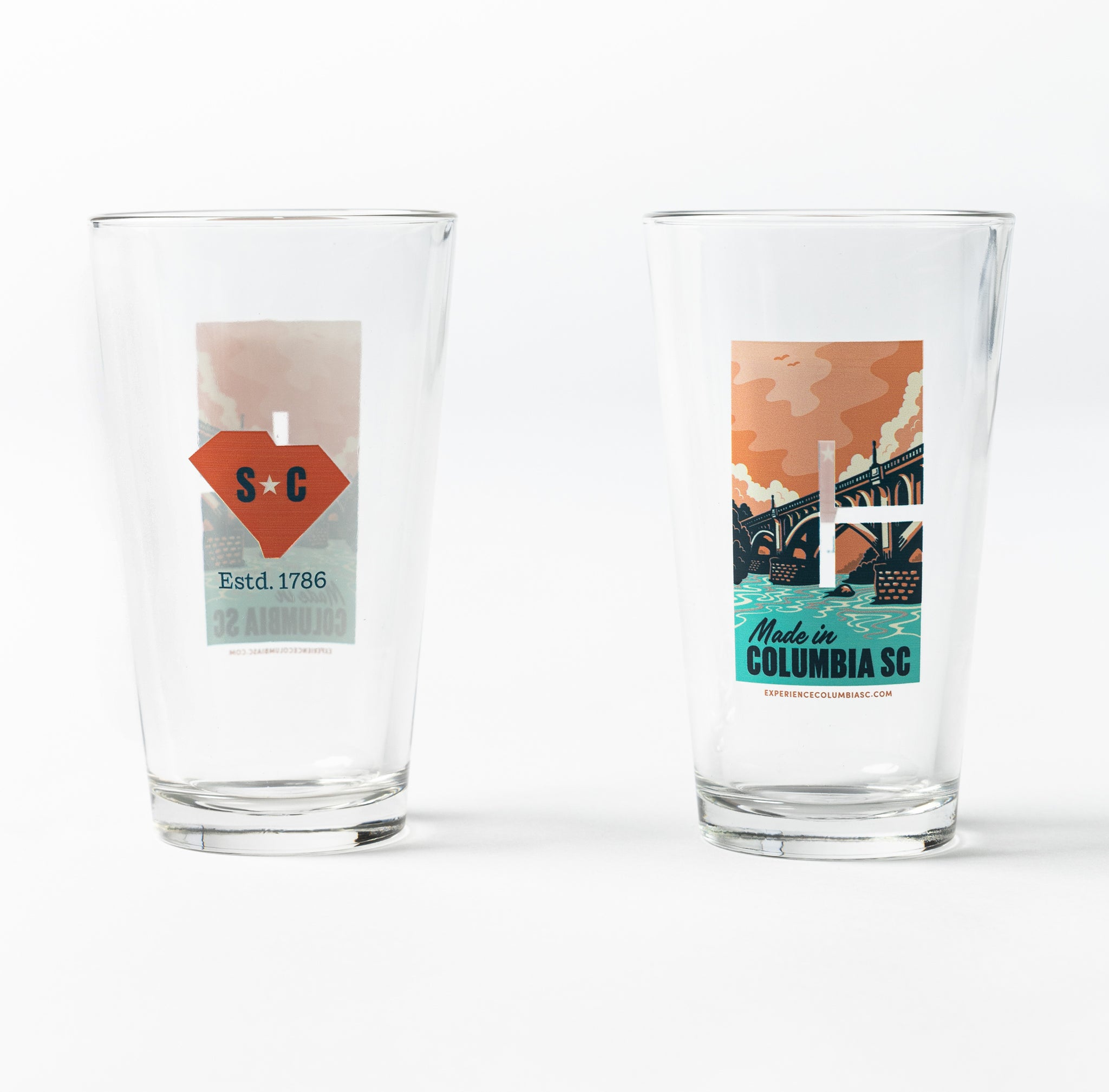 Made in Columbia SC Pint Glass