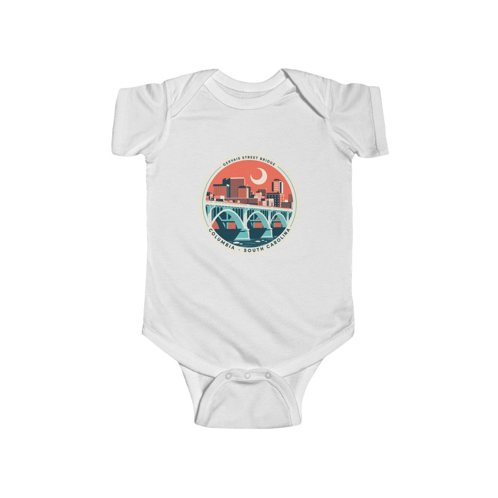 Infant Onesie - Landmark Series: Gervais Street Bridge
