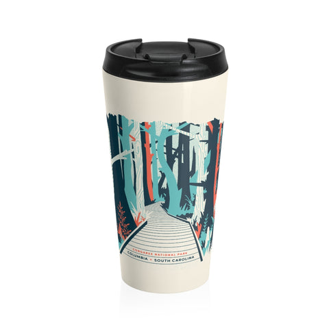 Landmark Series Stainless Steel Travel Mug - Congaree National Park