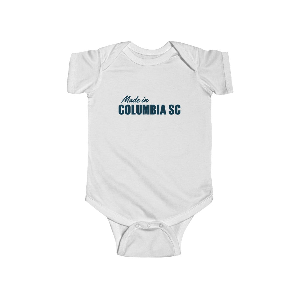 Infant Onesie Made in Columbia SC