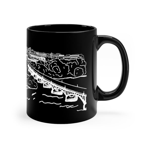11oz. Columbia SC Skyline Mugs