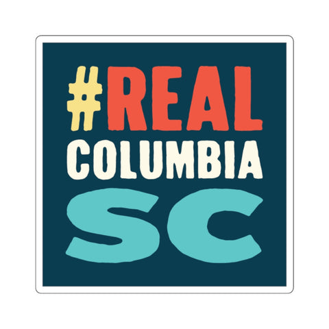 #RealColumbiaSC Sticker