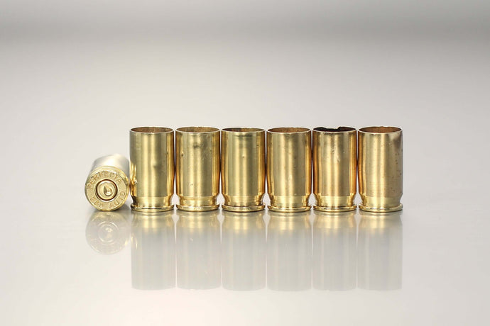 .380 Auto mixed headstamp once-fired - Northwest Iowa Brass