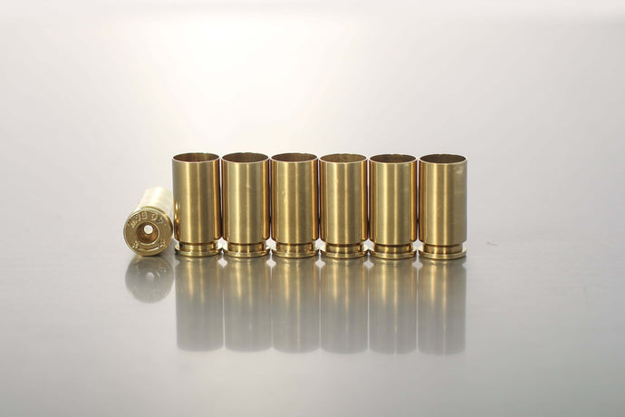 .40 S&W mixed headstamp once-fired and processed - Northwest Iowa Brass