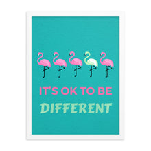 Load image into Gallery viewer, Flamingo Framed poster