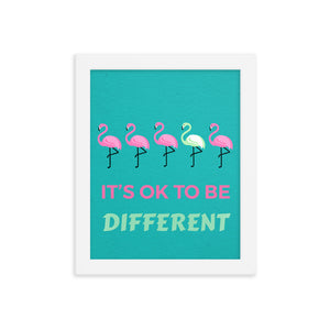 Flamingo Framed poster