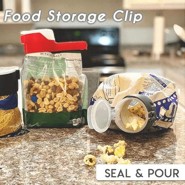 Seal & Pour Food Storage Clip