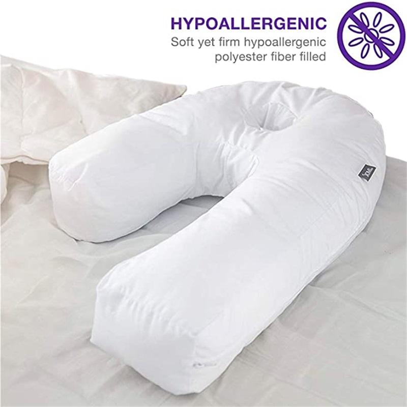 Side Sleeping U-Shaped Auxiliary Pillow