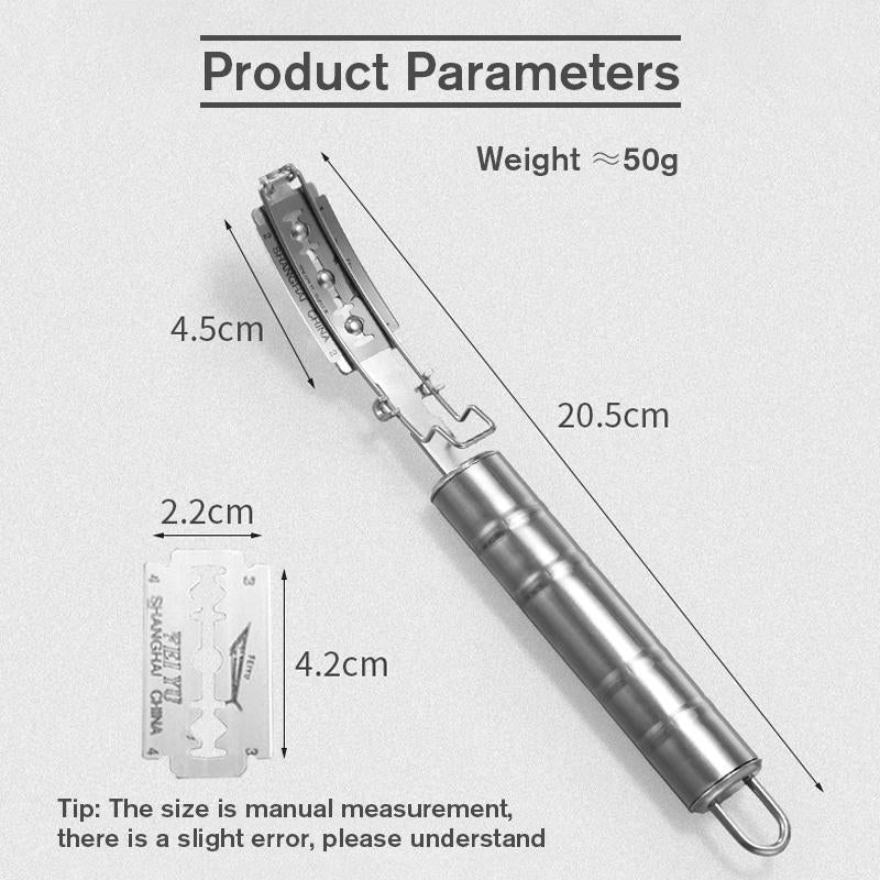 Stainless Steel Razor for Animals